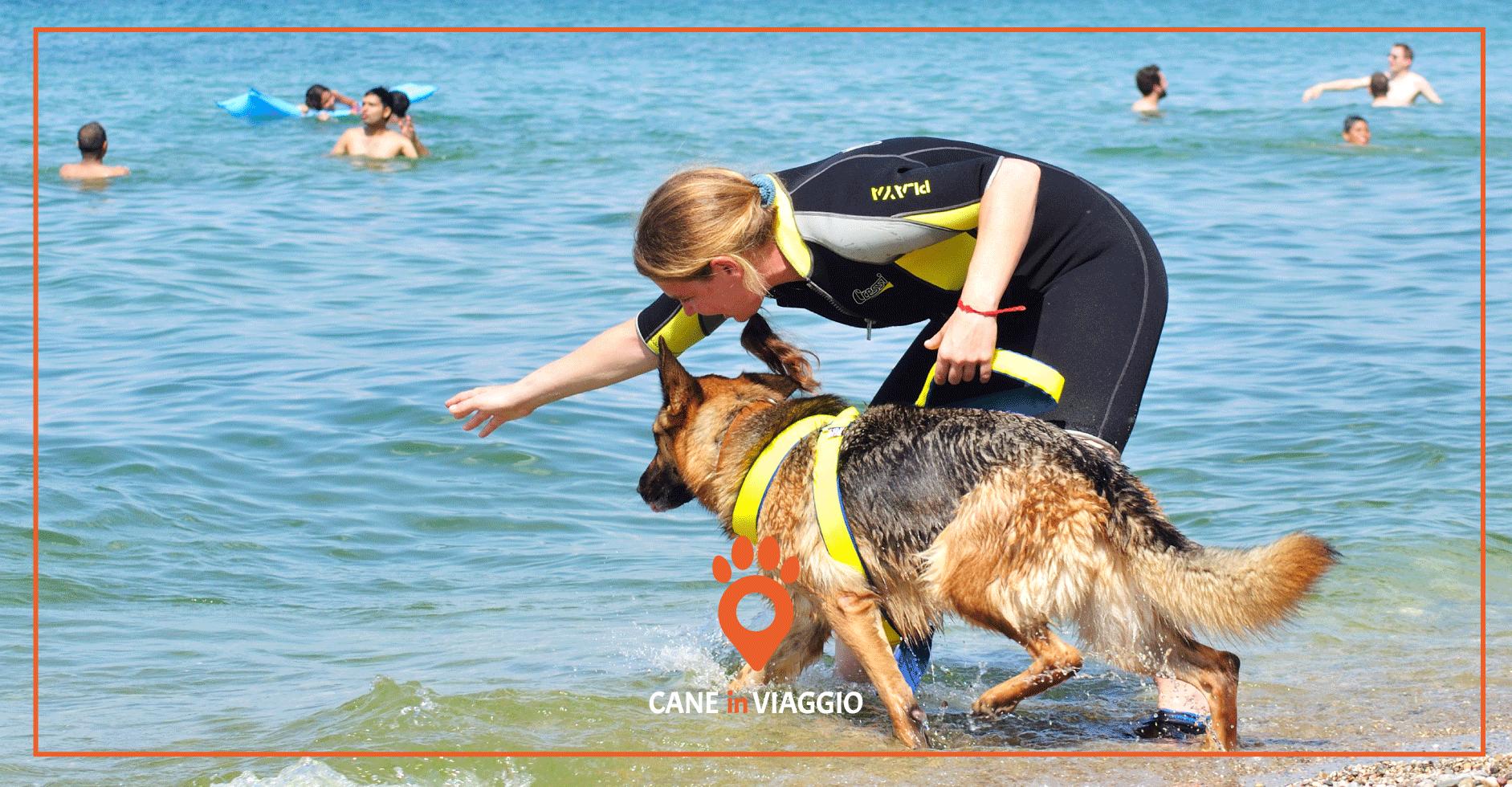 Spiagge per cani lago di Garda