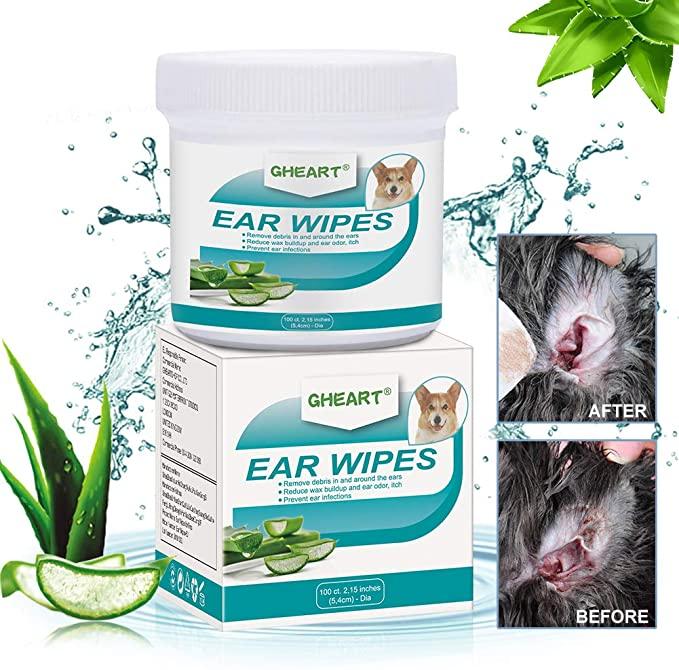 Salviette orecchie cani
