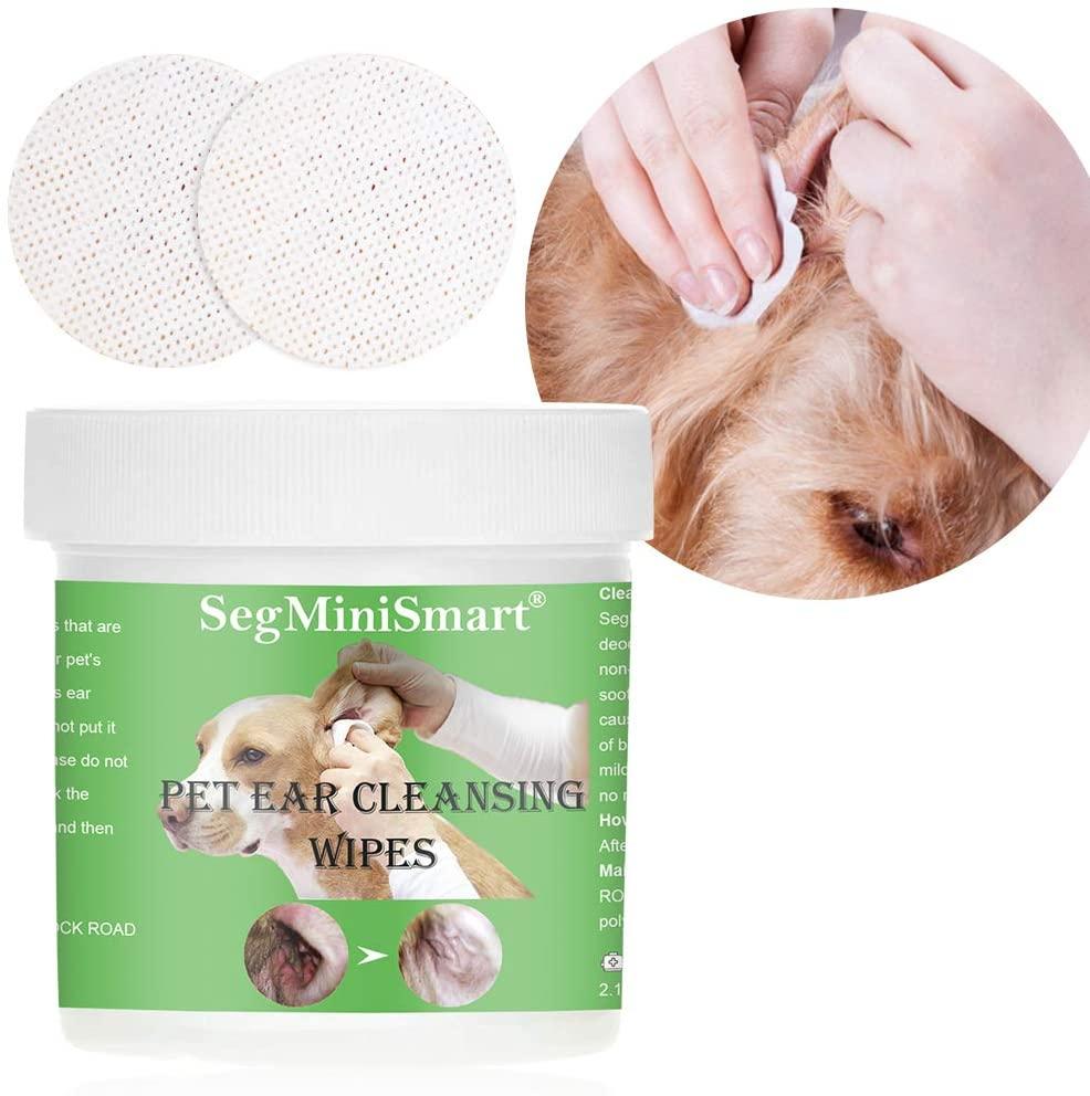segminismart salviette orecchie cani