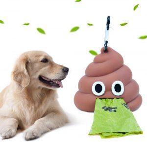 Sacchetti di immondizia per Cani, Dispenser per Sacchetti di Cacca per Canii
