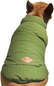 Cappotto Giacca Foderato in Pile per Cani